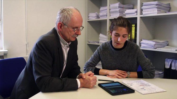 Digitale Baudokumentation live mit Skill BauDoc und Samsung in der Charité